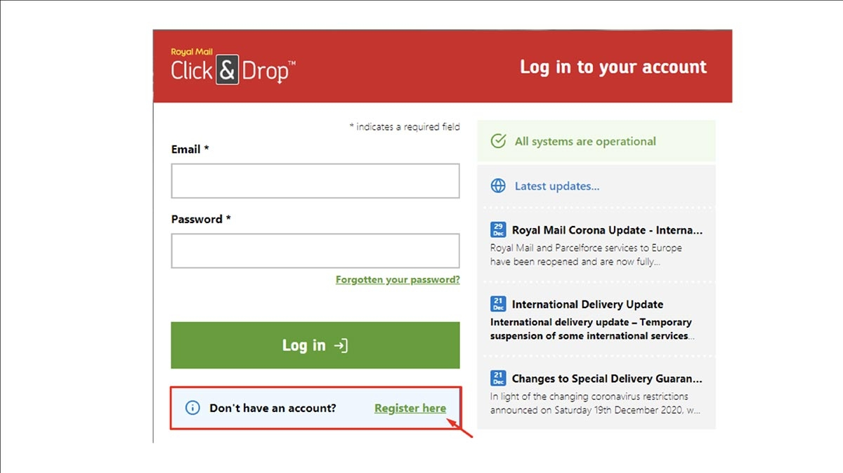 How to Integrate Royal Mail API into Your Online Shop Image 2